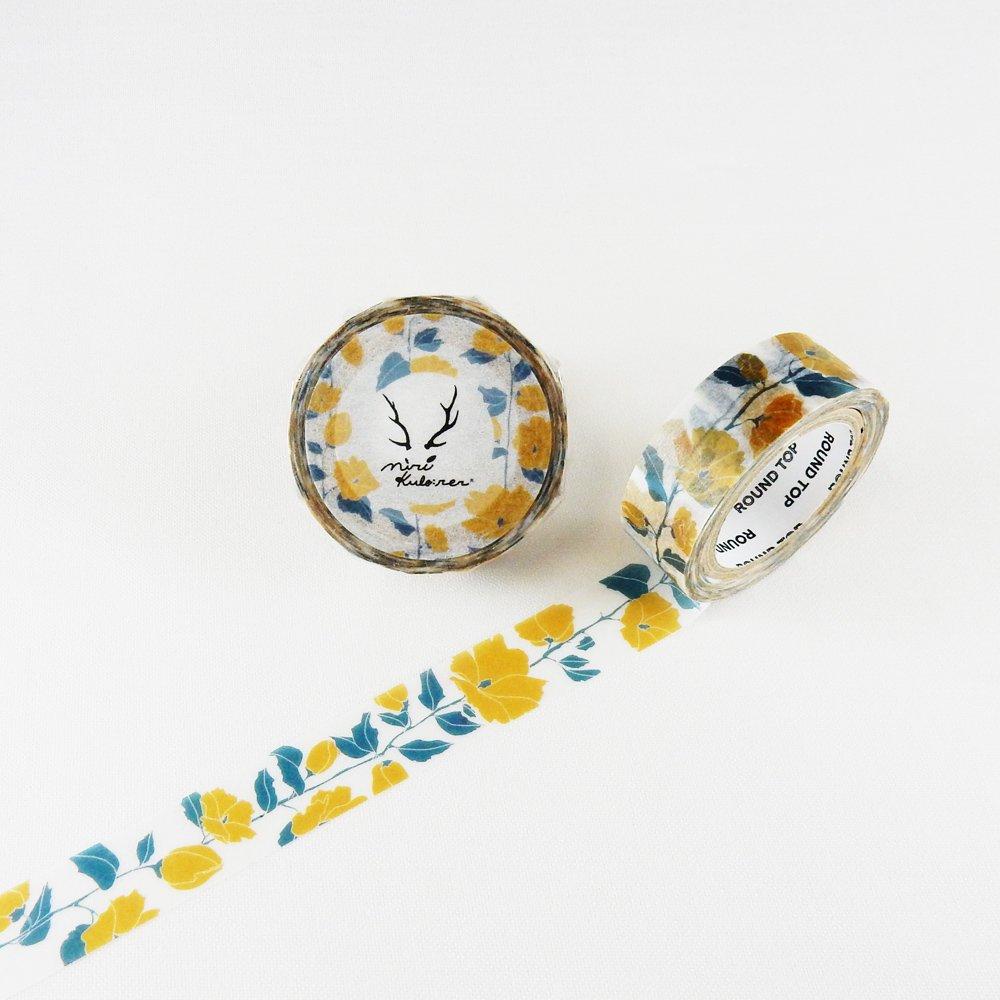 MiriKulo:rer- マスキングテープ DESIGN no.2 / flower1