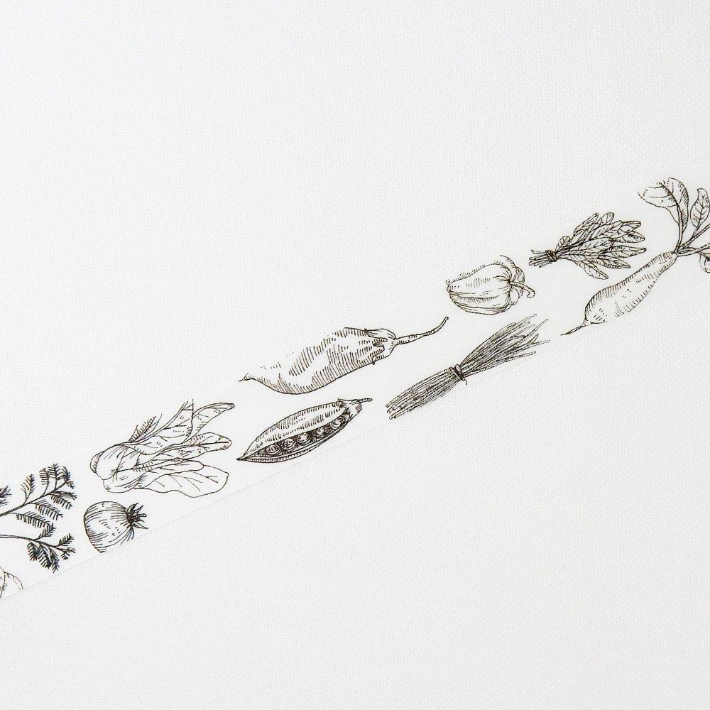 MiriKulo:rer- マスキングテープ DESIGN no.2 / vegetable