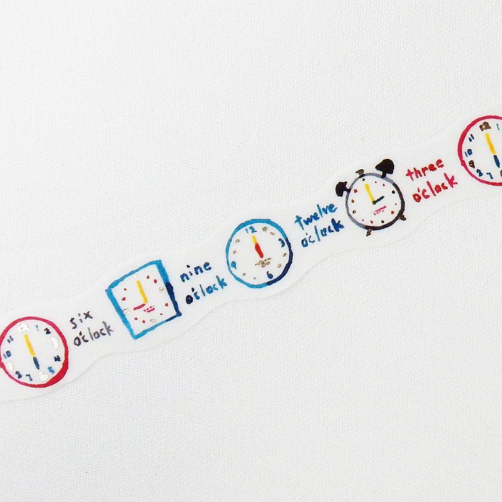 space craft - マスキングテープ /clock