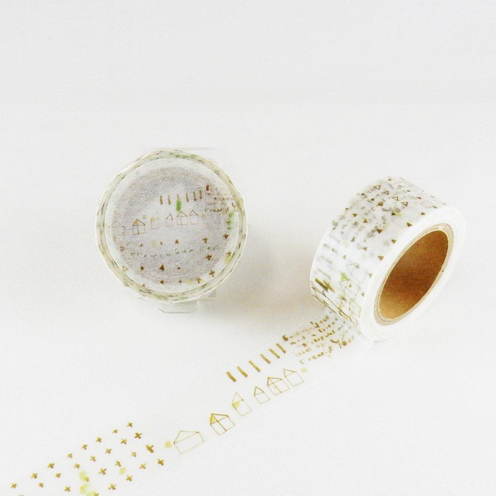 小徑文化×夏米花園-他方 - マスキングテープ / i