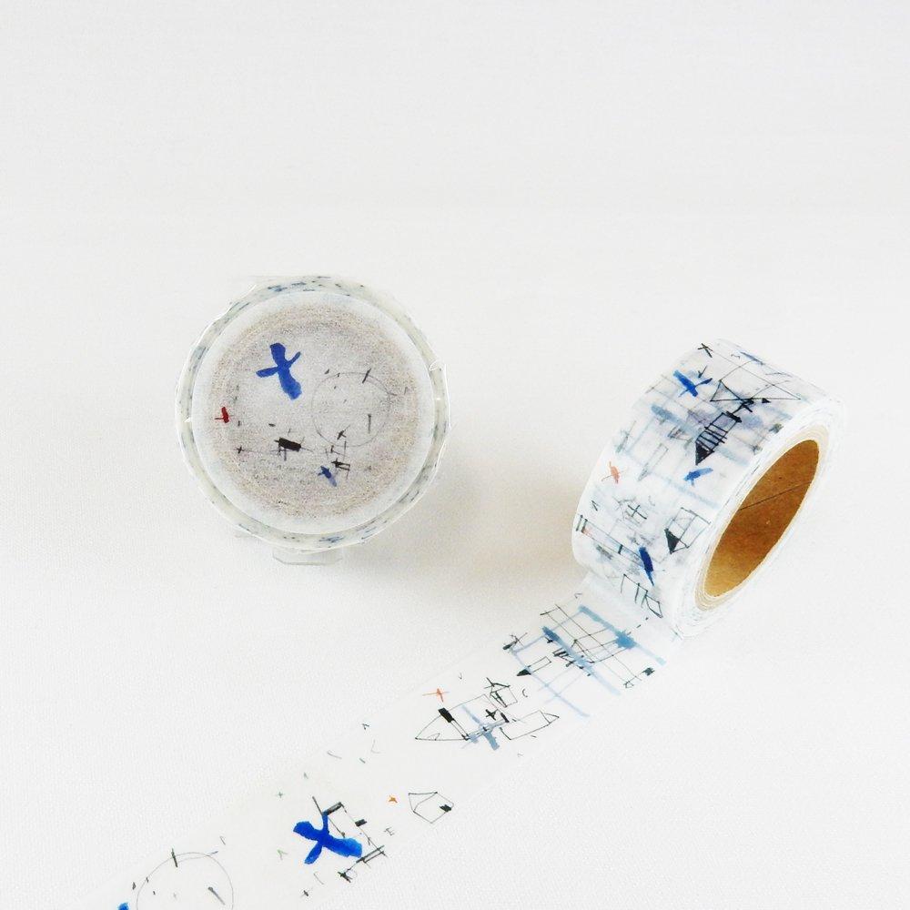 小徑文化×夏米花園-他方 - マスキングテープ / rewind