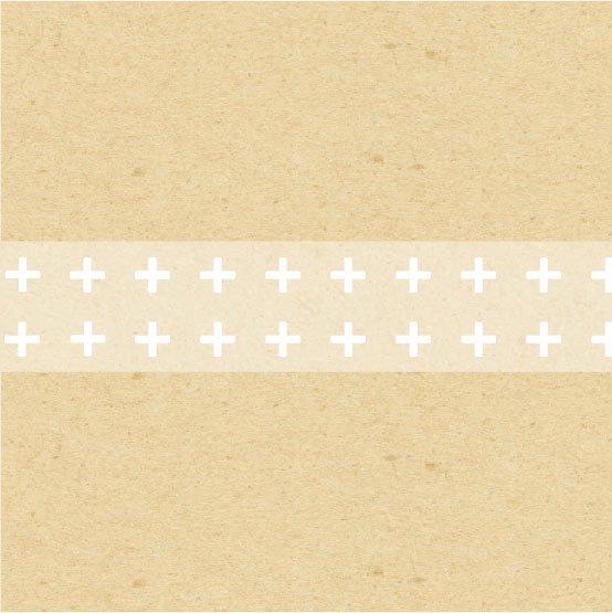 yano design - マスキングテープ White favorite / cross