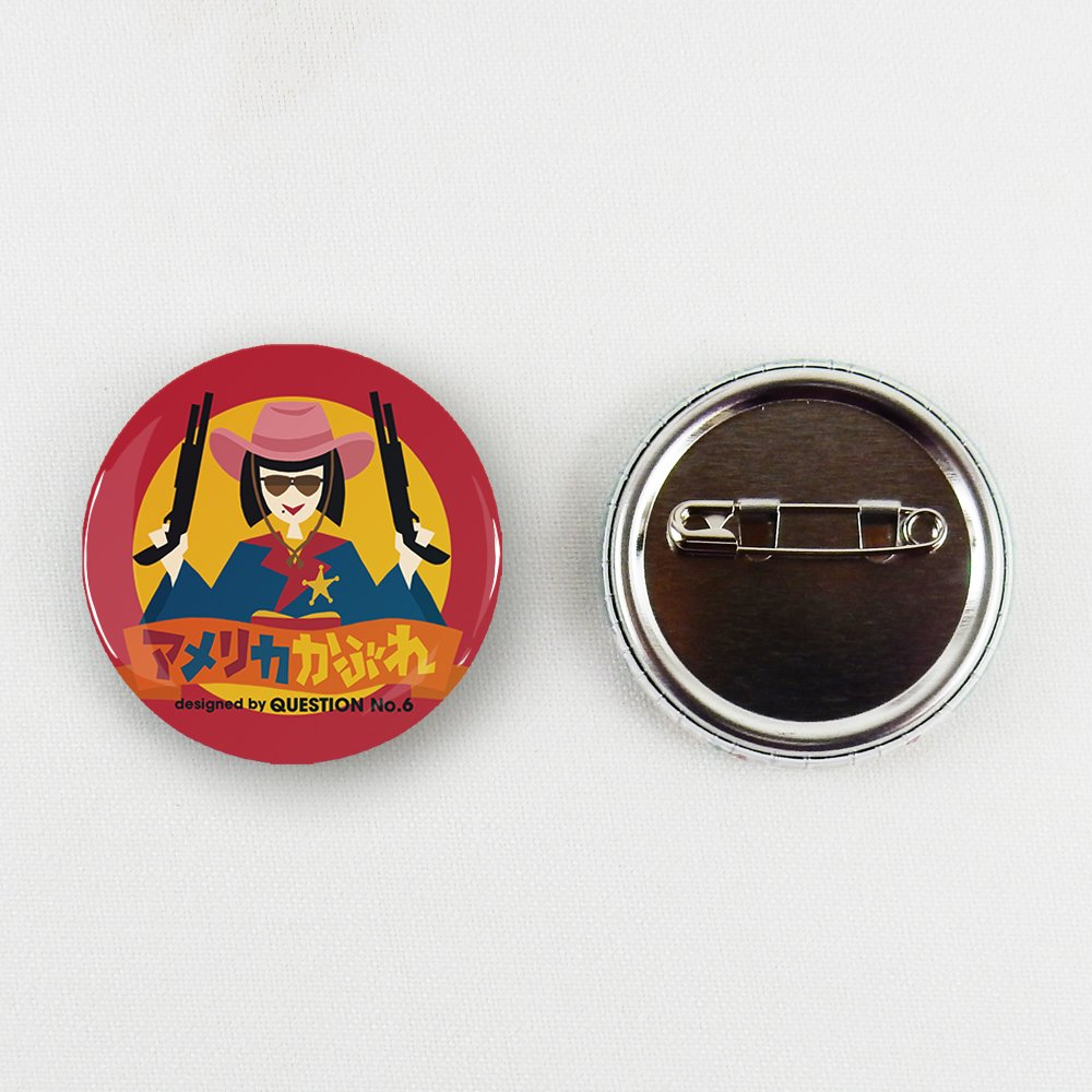 QUESTION NO.6 /女子の言いワケ展 缶バッチマスキングテープ 17