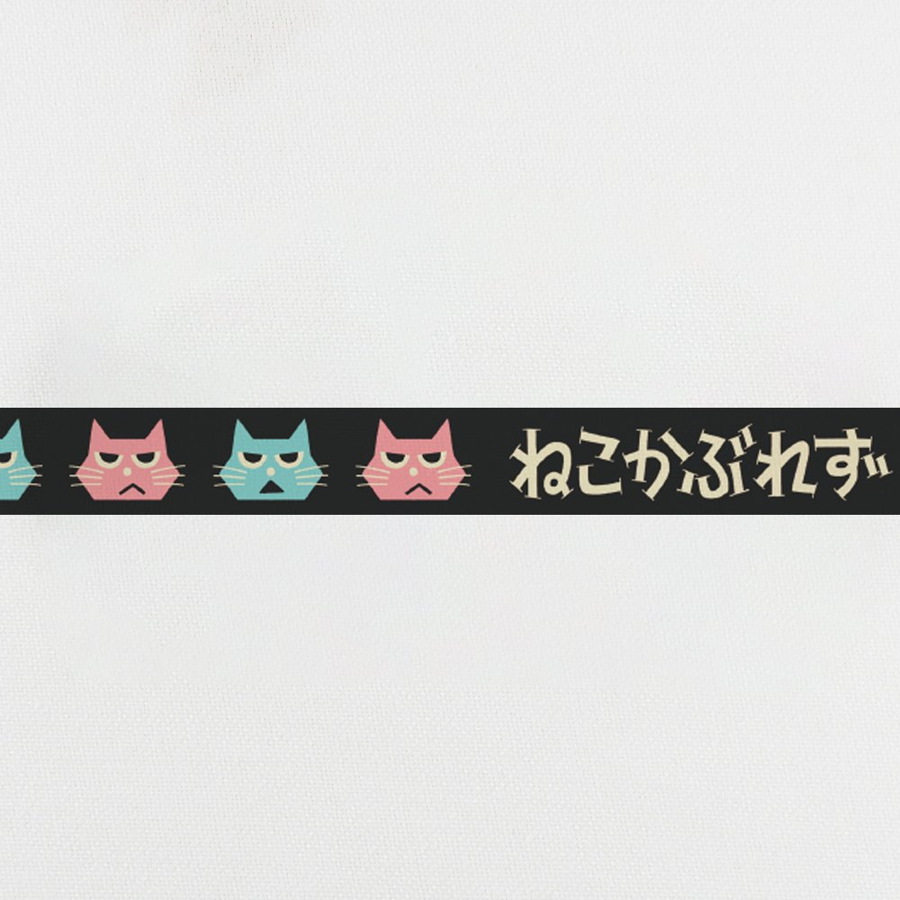 QUESTION NO.6 /女子の言いワケ展 缶バッチマスキングテープ 20