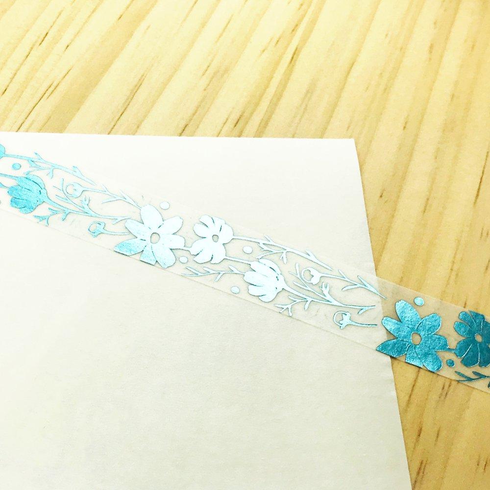 Seasonal flower Masking tape - Cosmos