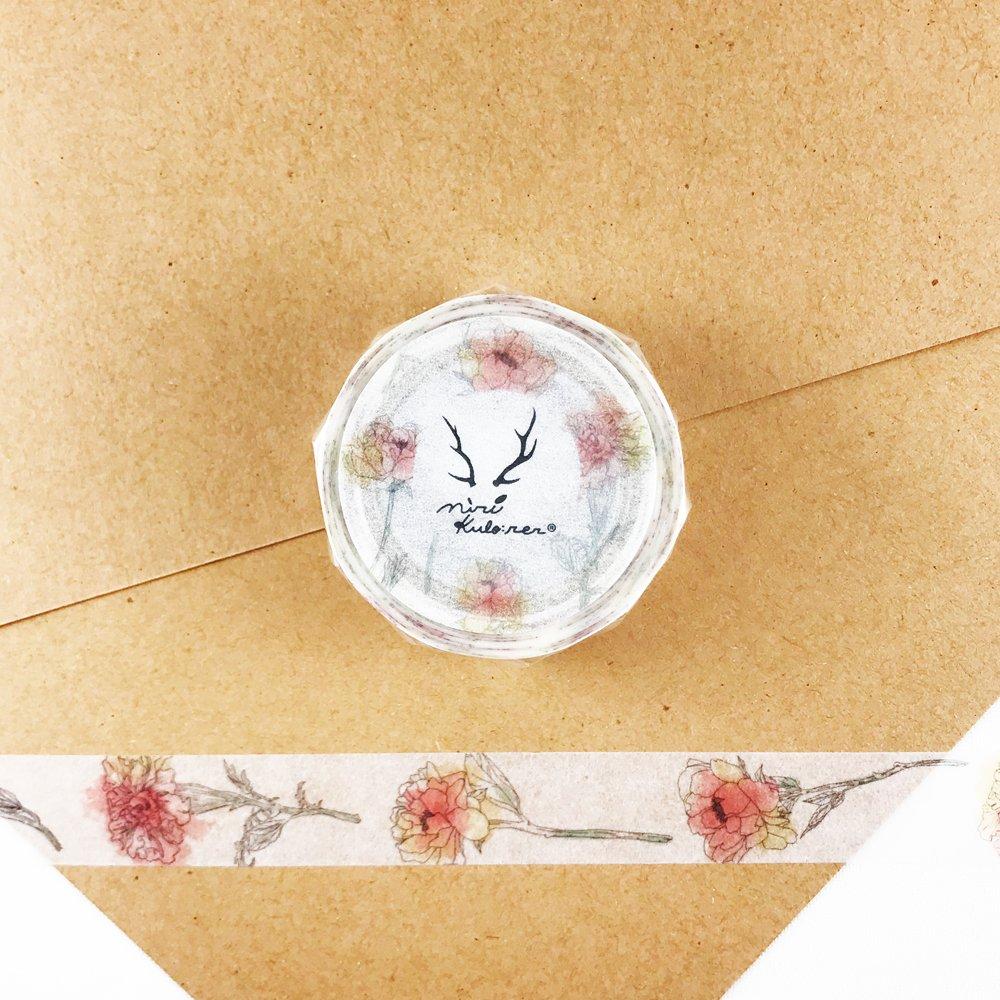 MiriKulo:rer- マスキングテープ DESIGN no.3 / cut flower