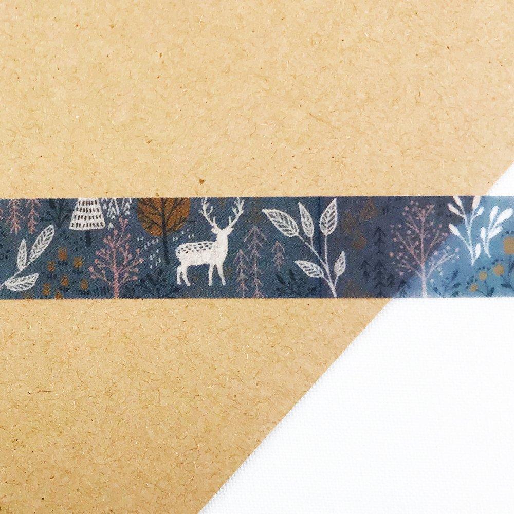 MiriKulo:rer- マスキングテープ DESIGN no.3 / forest