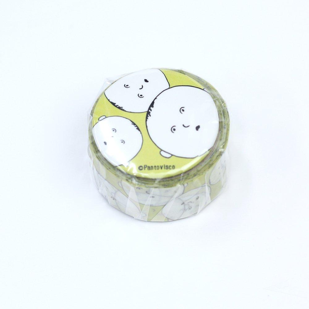 Pantovisco - 缶バッジ付きマスキングテープ / 014