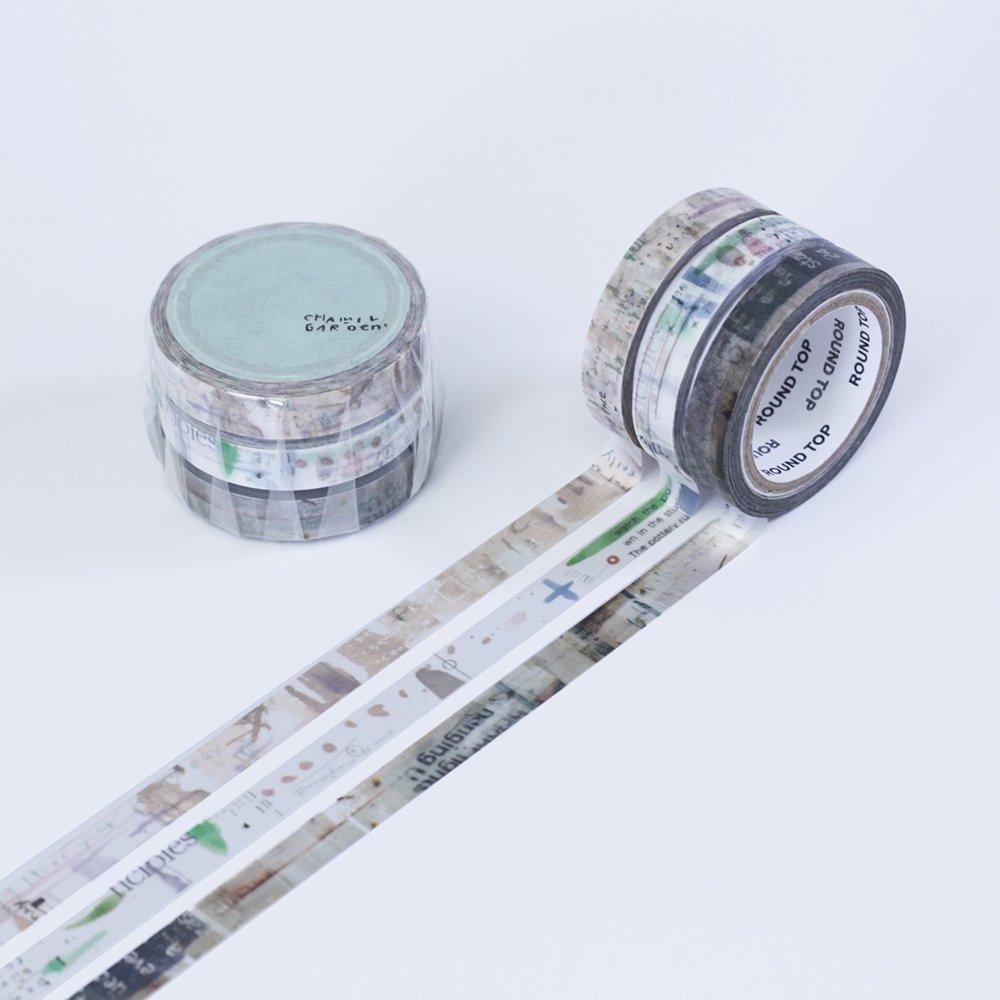 小徑文化×夏米花園 - マスキングテープ - colors of Seasons / 苗 NAE
