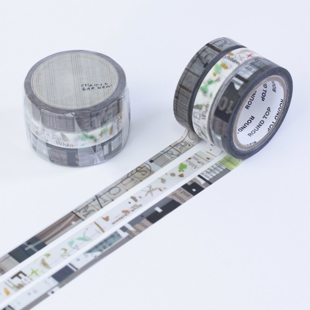 小徑文化×夏米花園 - マスキングテープ - colors of Seasons / 蒸栗 MUSHIKURI