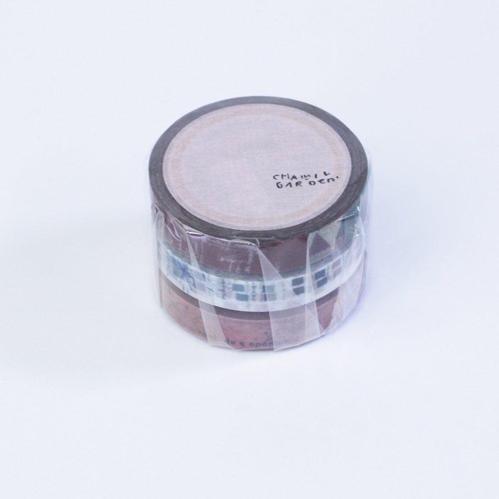 小徑文化×夏米花園 - マスキングテープ - colors of Seasons / 珊瑚朱 SANGOSYU
