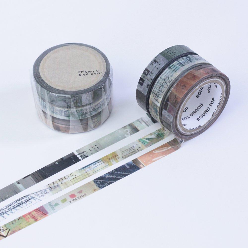 小徑文化×夏米花園 - マスキングテープ - colors of Seasons / 朽葉 KUCHIBA