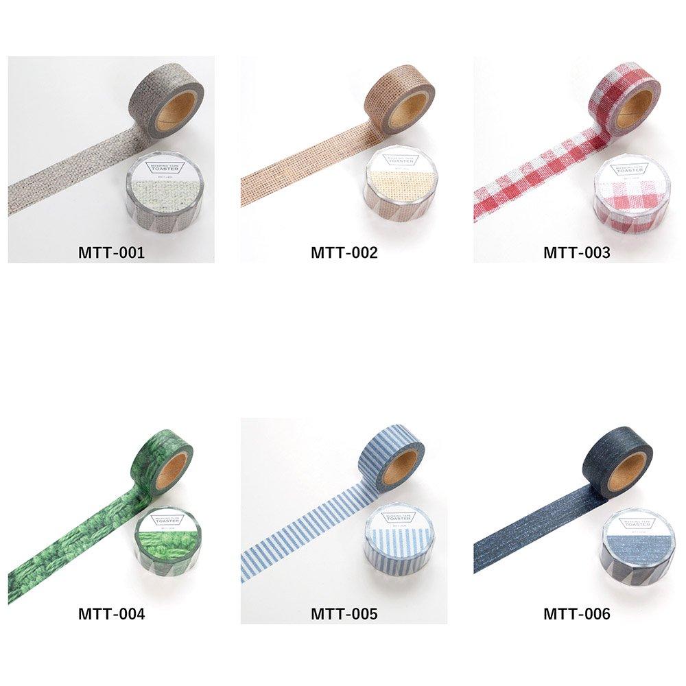 ファブリックシリーズ/マスキングテープ(MTT-001-006)