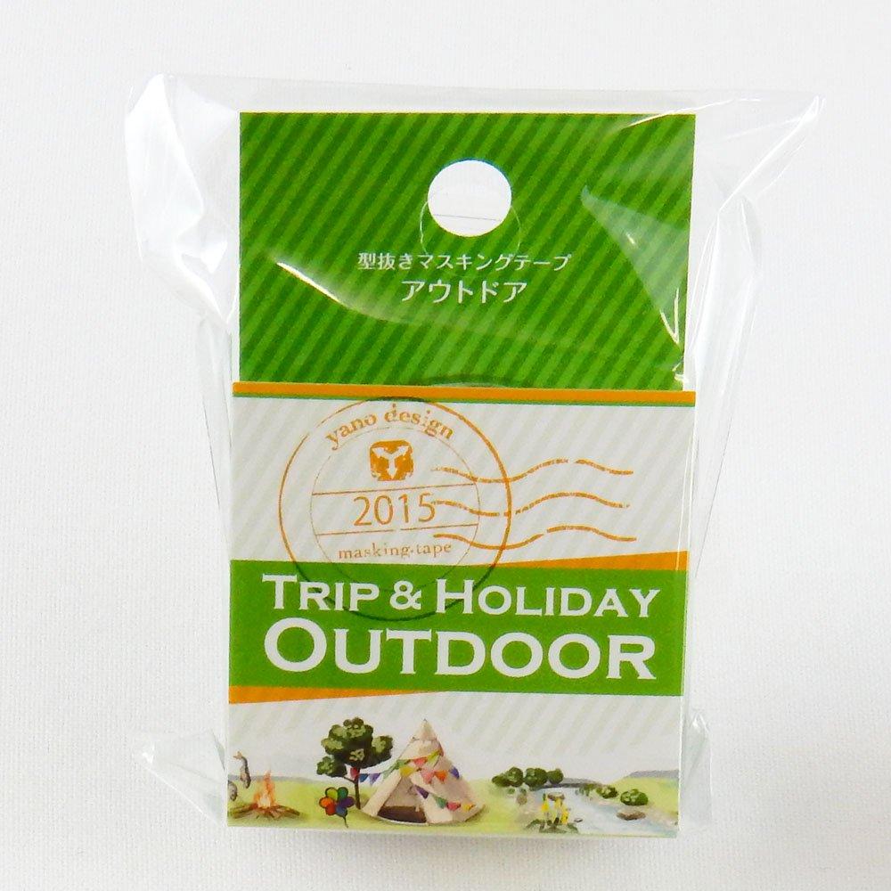 yano design - 型抜きマスキングテープ TRIP&HOLIDAY / アウトドア