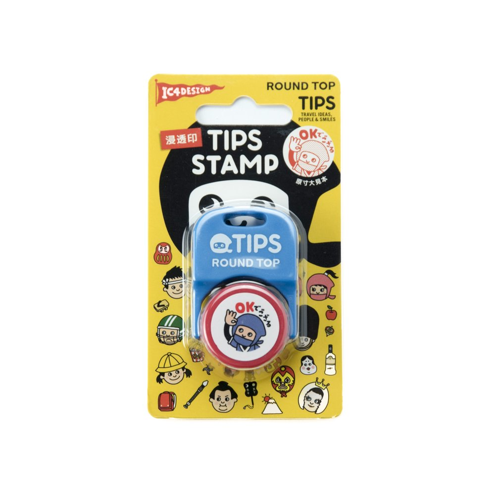 TIPS - STAMP / OKでござる 赤
