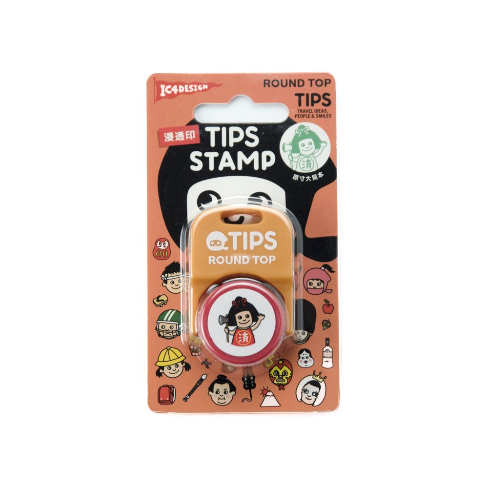 TIPS - STAMP / 済 緑