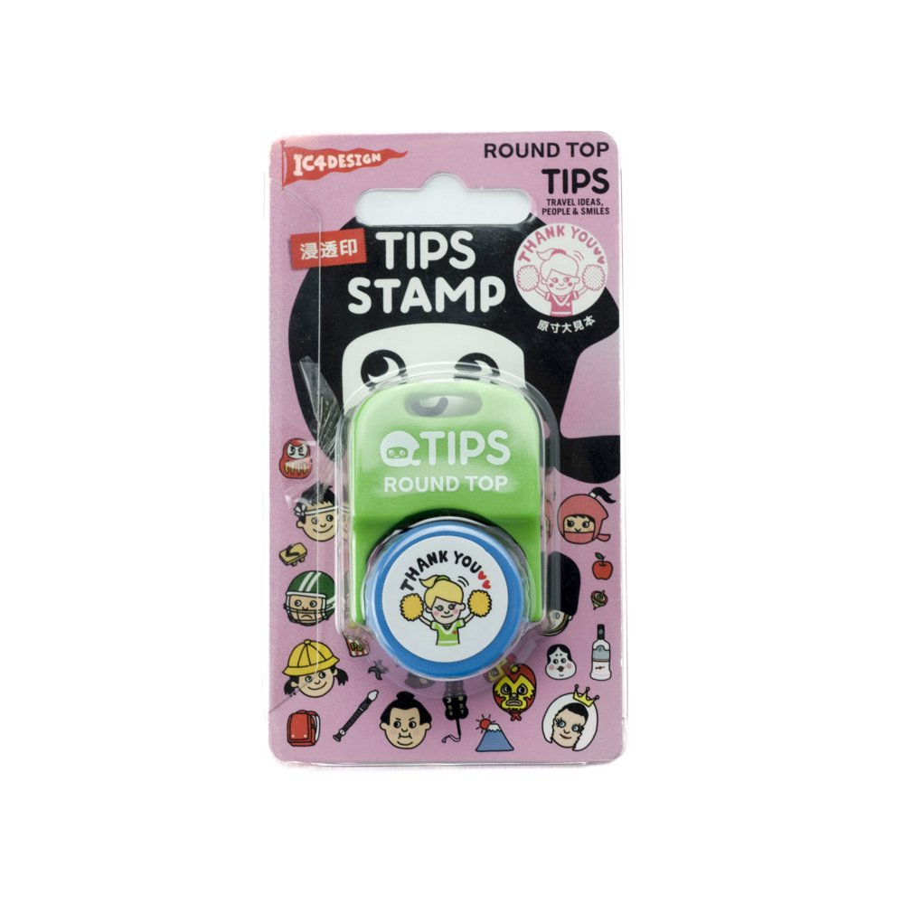 TIPS - STAMP / THANK YOU 桃
