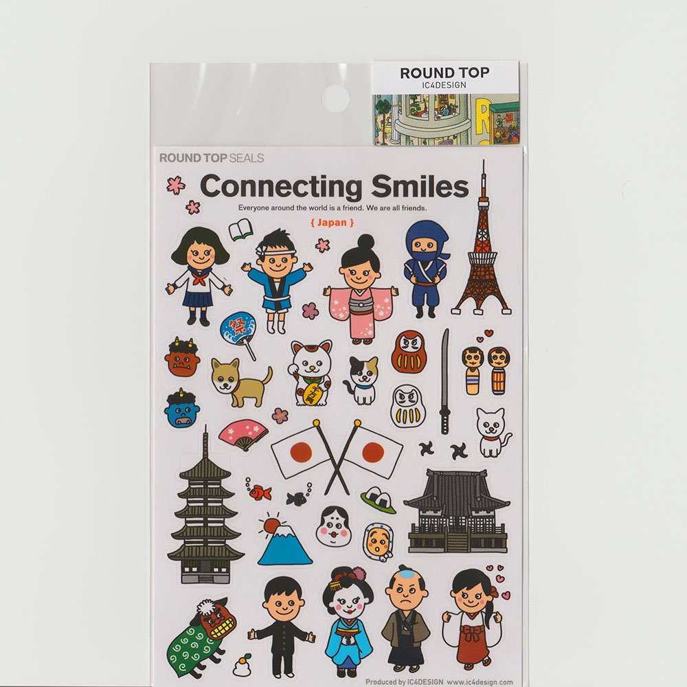TIPS - Connecting Smiles シール / 日本