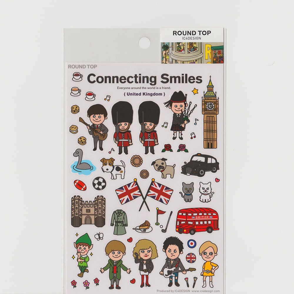 TIPS - Connecting Smiles シール / イギリス