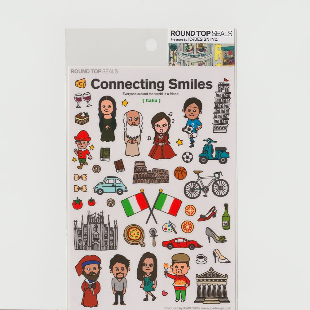 TIPS - Connecting Smiles シール / イタリア