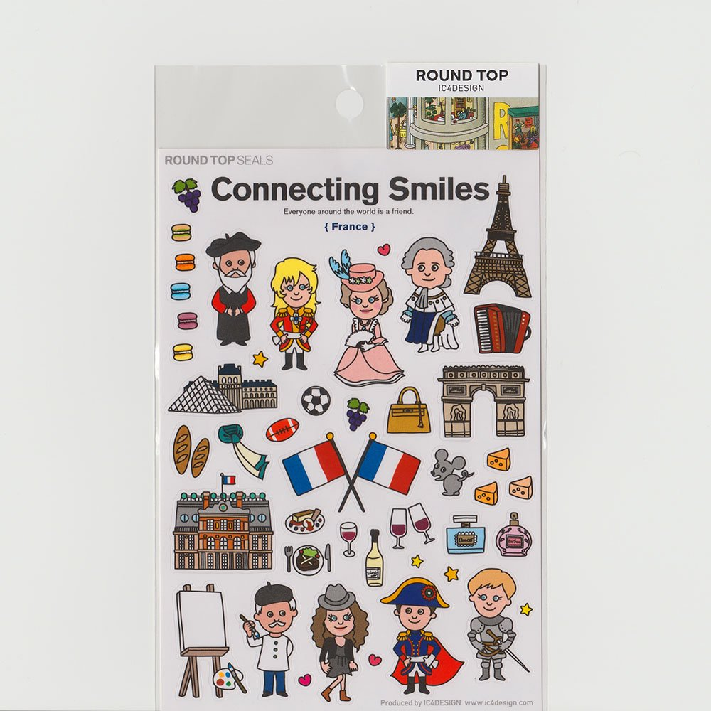 TIPS - Connecting Smiles シール / フランス