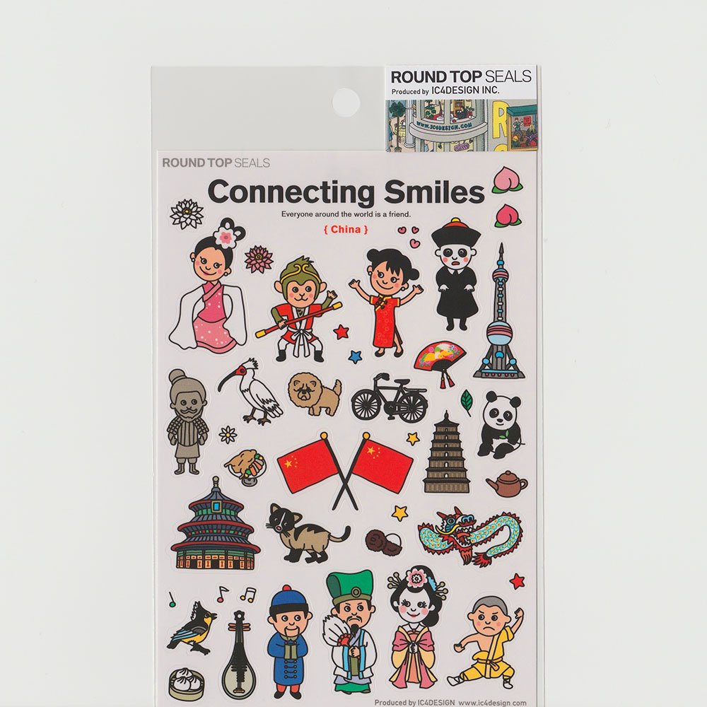 TIPS - Connecting Smiles シール / 中国