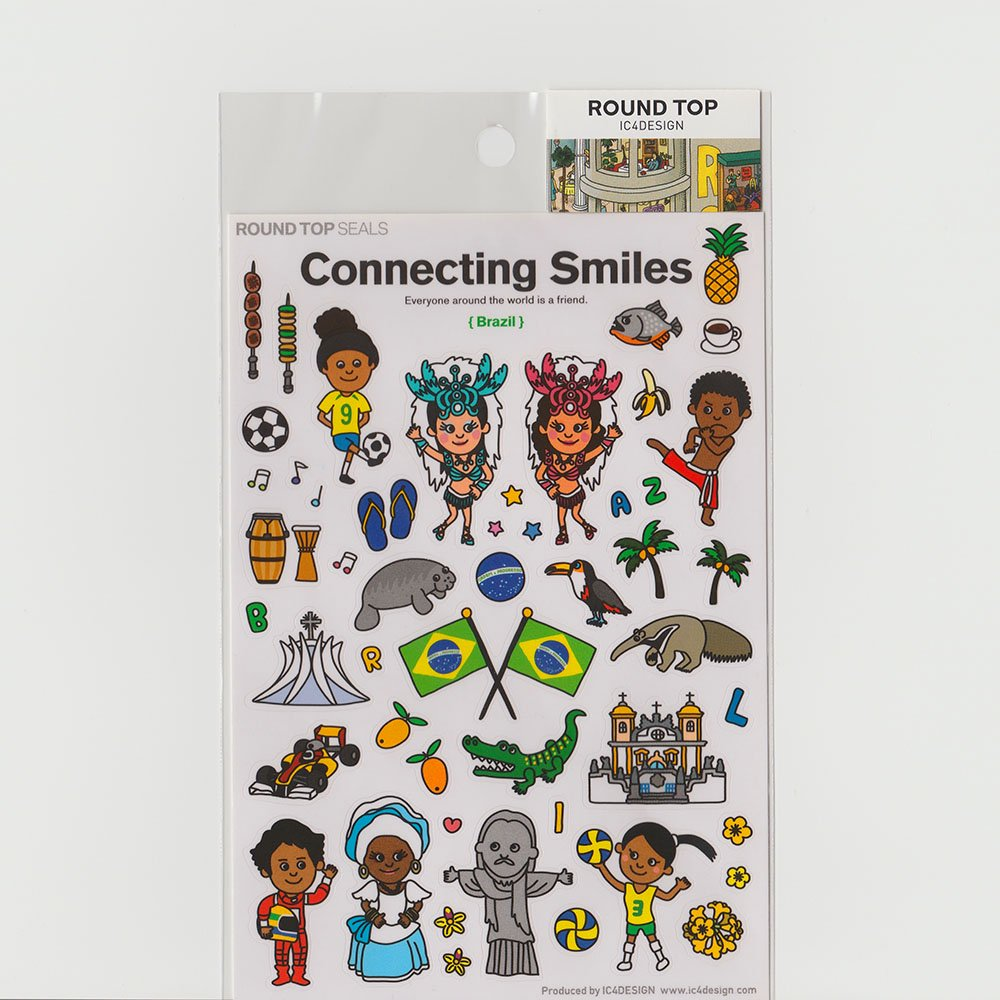 TIPS - Connecting Smiles シール / ブラジル