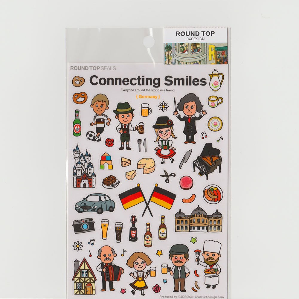 TIPS - Connecting Smiles シール / ドイツ