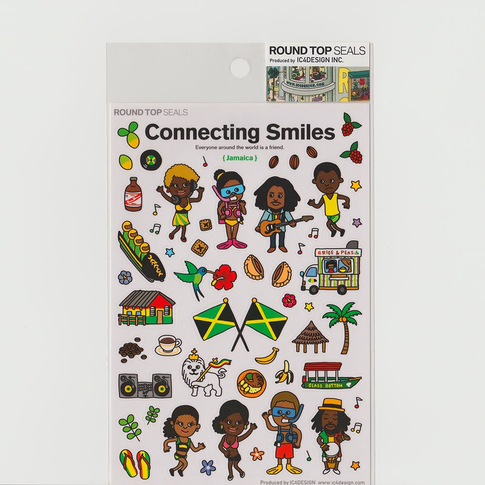 TIPS - Connecting Smiles シール / ジャマイカ