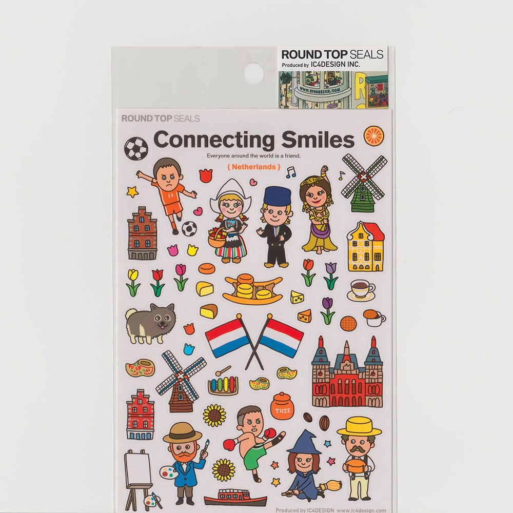 TIPS - Connecting Smiles シール / オランダ