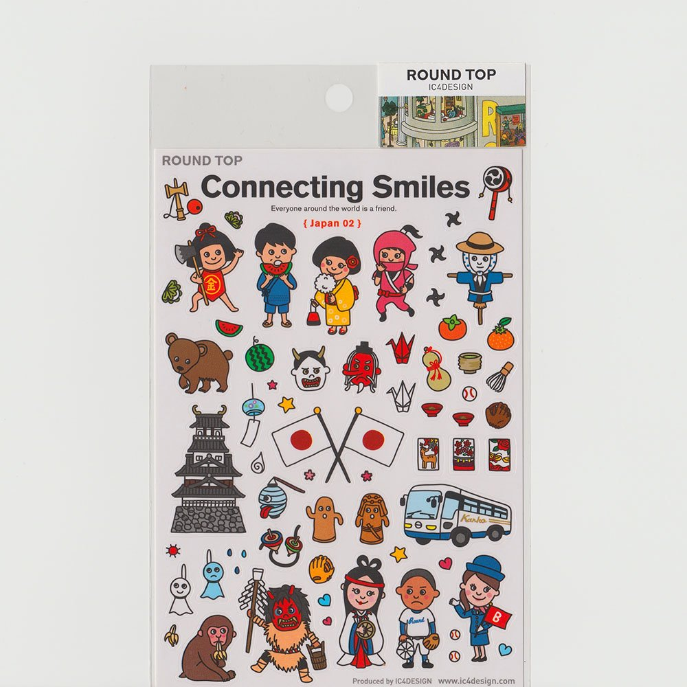 TIPS - Connecting Smiles シール / 日本02