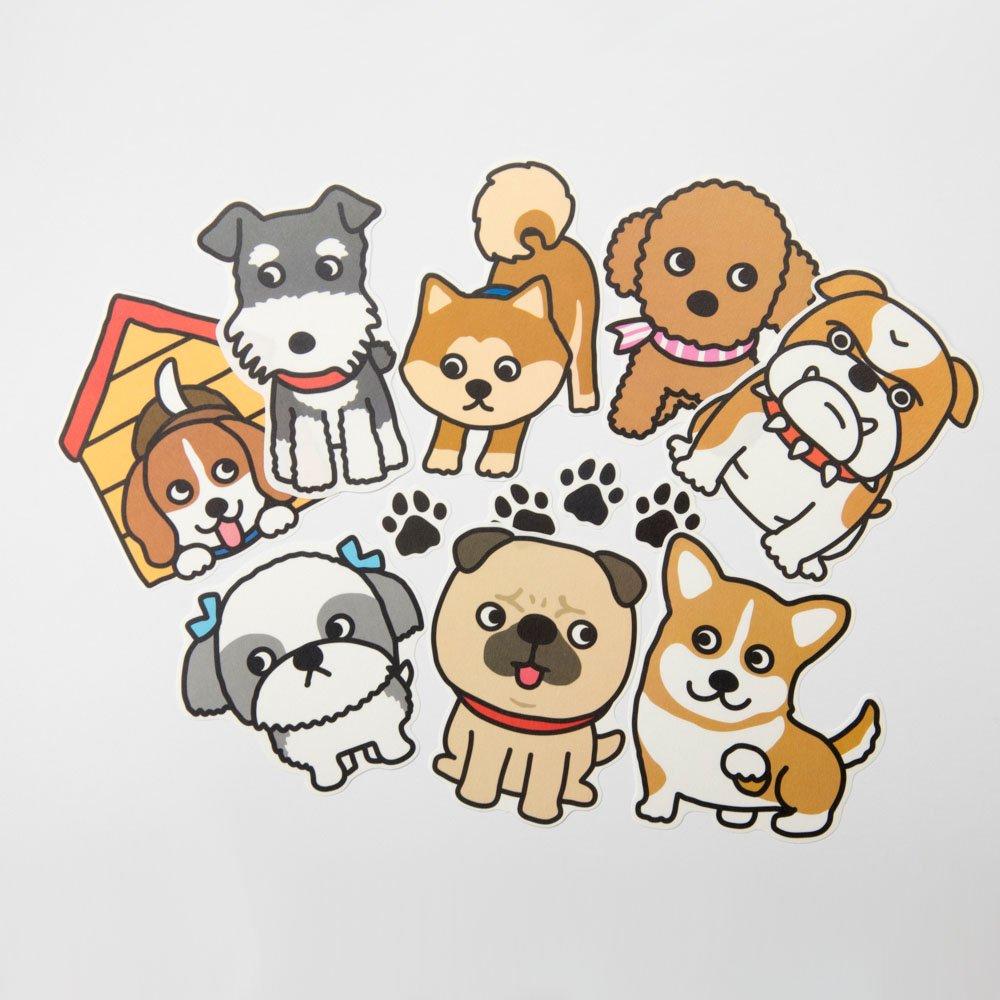 TIPS - ウォールステッカー / DOG