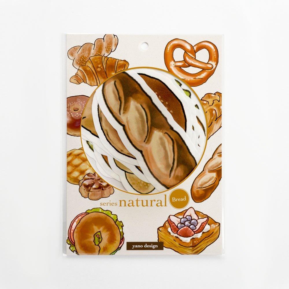 yano design - ウォールフレークステッカー series natural / Bread