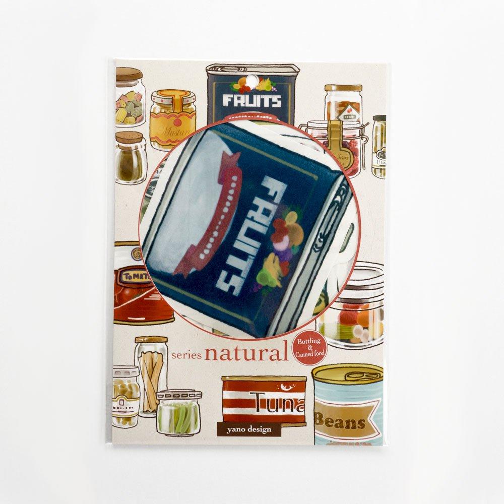 yano design - ウォールフレークステッカー series natural / Bottling&Canned food
