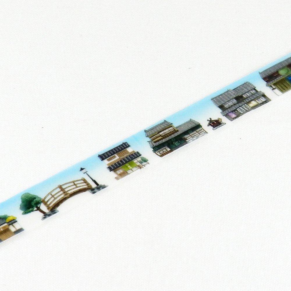 yano design - マスキングテープ series natural vol.3 / 日本の町並み