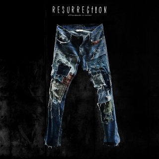 <img class='new_mark_img1' src='//img.shop-pro.jp/img/new/icons2.gif' style='border:none;display:inline;margin:0px;padding:0px;width:auto;' />RESURRECTION Reincarnation Denim Pants