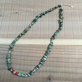<img class='new_mark_img1' src='//img.shop-pro.jp/img/new/icons3.gif' style='border:none;display:inline;margin:0px;padding:0px;width:auto;' />FreeL THE ONLY Turquoise Middle Necklace