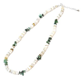 KinCrossWorld Shell&PowerStone Necklace