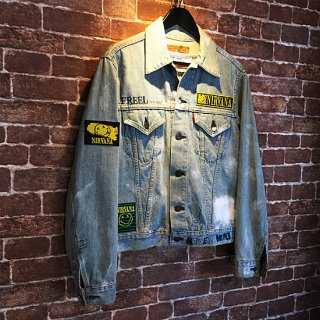 <img class='new_mark_img1' src='//img.shop-pro.jp/img/new/icons49.gif' style='border:none;display:inline;margin:0px;padding:0px;width:auto;' />FreeL THE ONLY Custum Denim Jacket (NIRVANA)