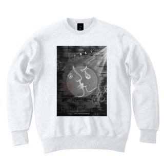 <img class='new_mark_img1' src='//img.shop-pro.jp/img/new/icons8.gif' style='border:none;display:inline;margin:0px;padding:0px;width:auto;' />IncentiveGreed FOREVER MINE Sweat shirt WHITE
