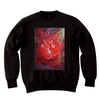 <img class='new_mark_img1' src='//img.shop-pro.jp/img/new/icons8.gif' style='border:none;display:inline;margin:0px;padding:0px;width:auto;' />IncentiveGreed FOREVER MINE Sweat shirt BLACK