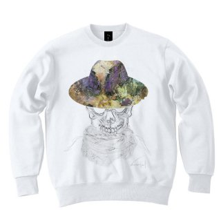 <img class='new_mark_img1' src='//img.shop-pro.jp/img/new/icons8.gif' style='border:none;display:inline;margin:0px;padding:0px;width:auto;' />IncentiveGreed Fashion Skeleton Sweat shirt WHITE