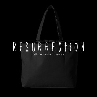 <img class='new_mark_img1' src='//img.shop-pro.jp/img/new/icons2.gif' style='border:none;display:inline;margin:0px;padding:0px;width:auto;' />RESURRECTION Damage BLACK Tote BAG