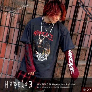 <img class='new_mark_img1' src='//img.shop-pro.jp/img/new/icons7.gif' style='border:none;display:inline;margin:0px;padding:0px;width:auto;' />H∀PEAC∃ BaphoLisa T-Shirt