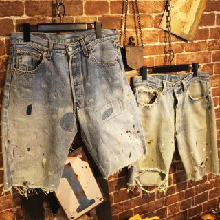 <img class='new_mark_img1' src='//img.shop-pro.jp/img/new/icons14.gif' style='border:none;display:inline;margin:0px;padding:0px;width:auto;' />KInCrossWorld Remake Denim Shorts