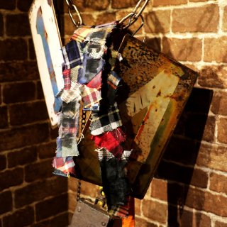 KinCrossWorld Remake Patchwork Long Belt 〜K.C.W.〜