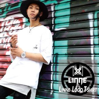 <img class='new_mark_img1' src='//img.shop-pro.jp/img/new/icons8.gif' style='border:none;display:inline;margin:0px;padding:0px;width:auto;' />LINNE 1st Logo T-shirt