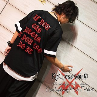 KinCrossWorld CrossLightning Mesh T-Shirt