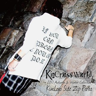 KinCrossWorld KincLogo Side Zip Parka