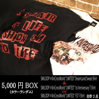 <img class='new_mark_img1' src='//img.shop-pro.jp/img/new/icons14.gif' style='border:none;display:inline;margin:0px;padding:0px;width:auto;' />【12/16 22:00〜 販売開始】SMILOOP×KinCrossWorld